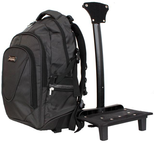 310х500х220.  Сумка-рюкзак для ноутбука на колесах.  Материал:текстиль.